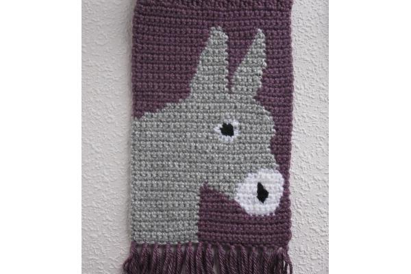 crochet burro