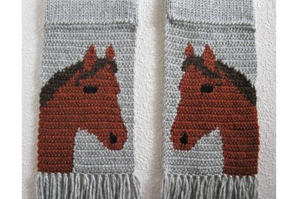 sorrel horse crochet