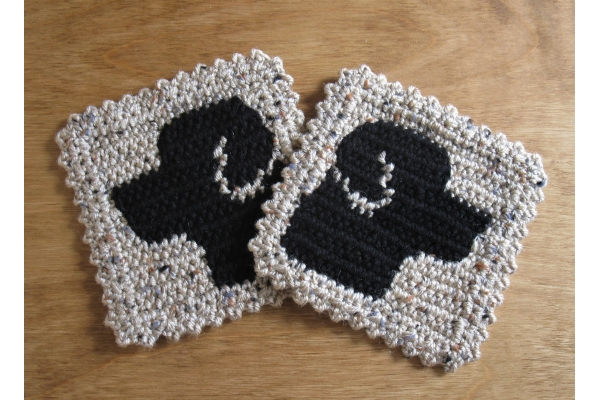 black lab dogs