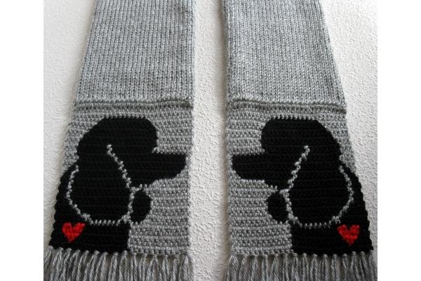 black poodle silhouettes