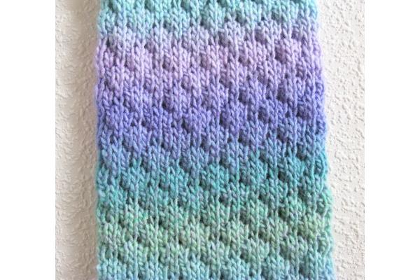 close up tuck stitch