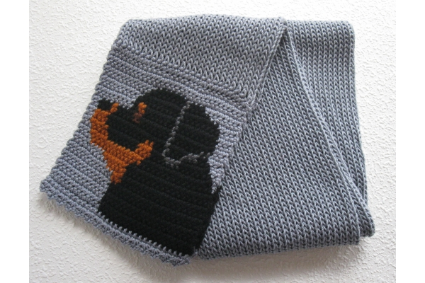 full view dog scarf