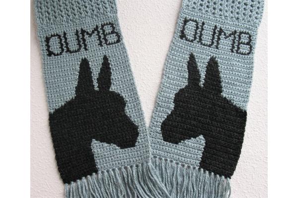 dumb ass scarf