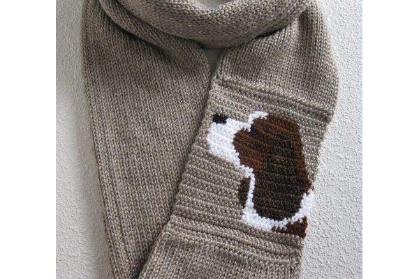 springer spaniel scarf