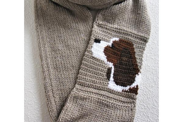spaniel infinity scarf