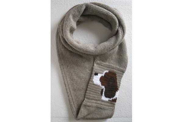burlap infinity scarf