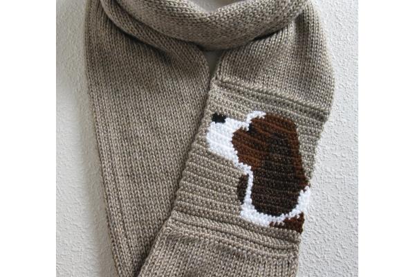 spaniel dog scarf
