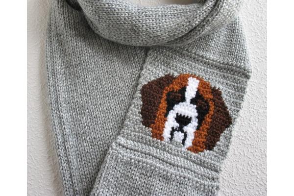 Saint Bernard scarf