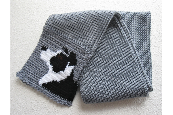full view collie scarf