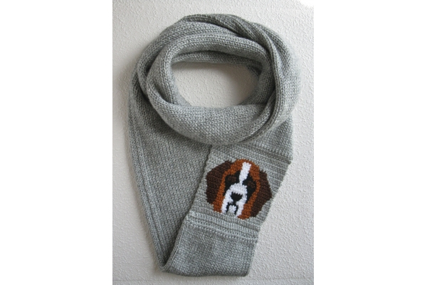 St Bernard scarf