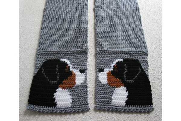 pet lovers scarf