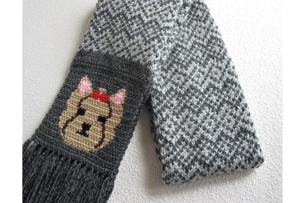 Yorkie scarf