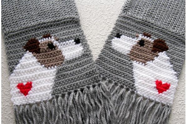 close up jack scarf