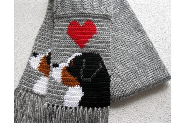 mountain dog scarf