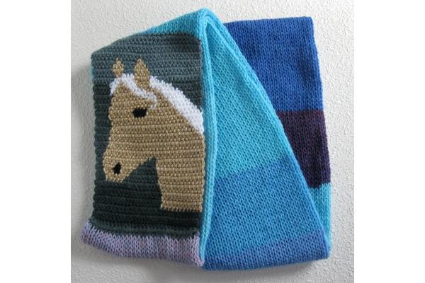 color block scarf