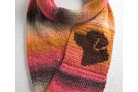 infinity dog scarf