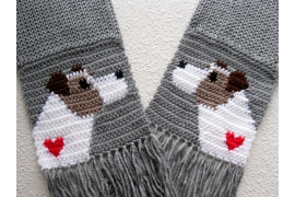 jack russell scarf