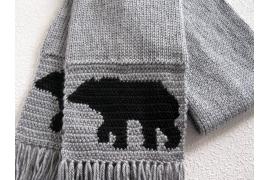 bear scarf