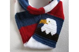 bald eagle infinity scarf