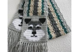 schnauzer scarf