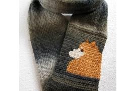 Pomeranian dog scarf