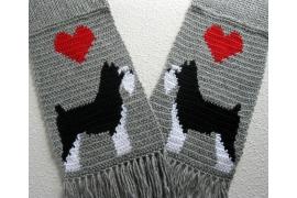miniature schnauzer scarf