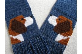 Beagle dog scarf