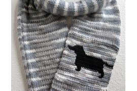 dachshund infinity scarf