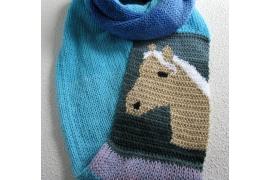 palomino horse scarf