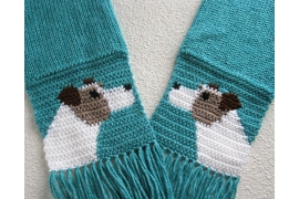 Jack Russell terrier scarf