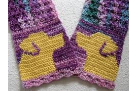 yellow lab scarf