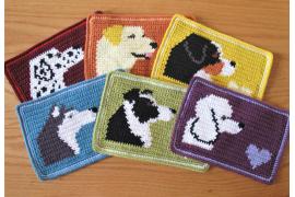 dog mug mat coasters