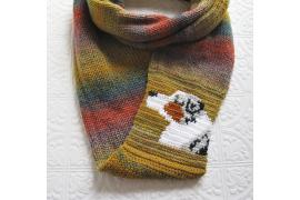 Australian shepherd scarf